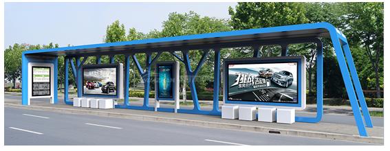 候车亭作为公共设施的重要组成部分,安全,放松,舒适,美观是其设计主要