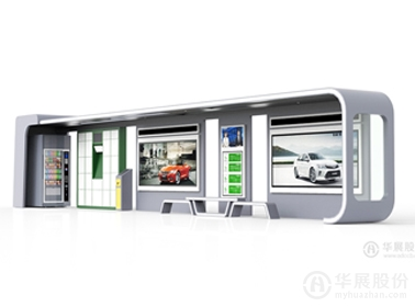 公交候车亭HY-1601