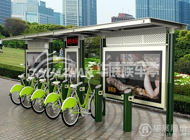 公共自行车棚 HZ-1163