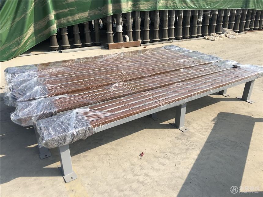 木质候车亭座椅,公交站台座椅