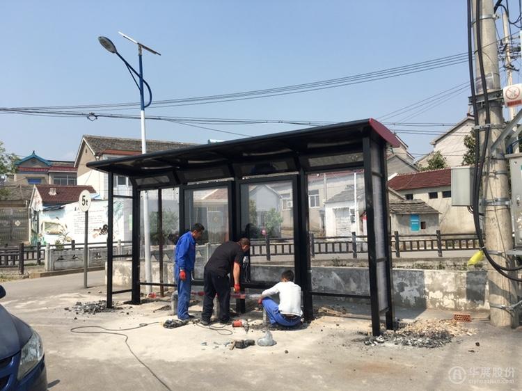 南京公交候车亭,高淳公交站台,乡镇候车亭