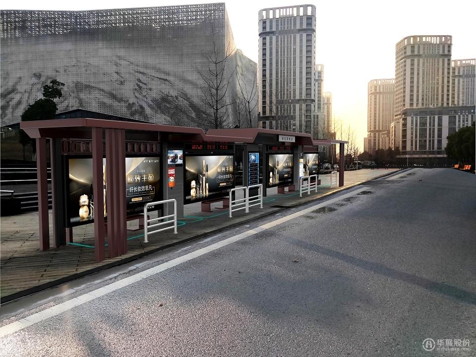 公交候车亭HZ-2129