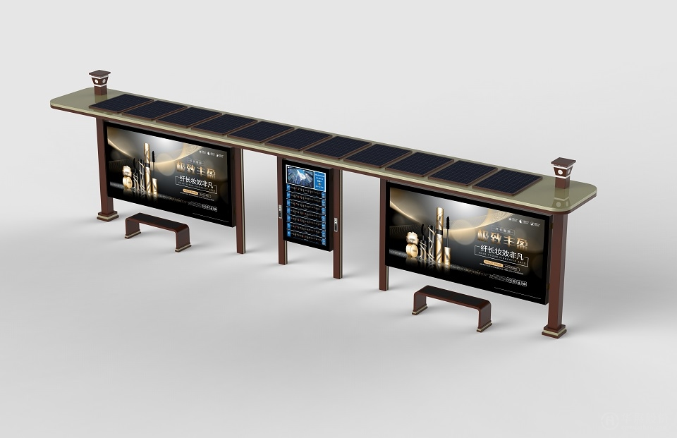 太陽能候車亭